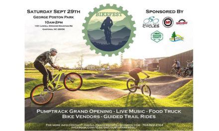 Gaston Co. Park & Rec.'s Annual Bikefest Is Sat., September 29