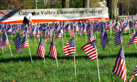 CVCC Student Veteran's Group  Flag Sale Through Nov. 2