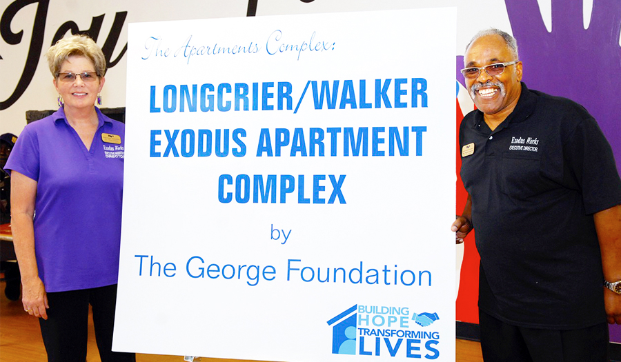 Exodus Homes Exceeds Goal  In Capital Campaign