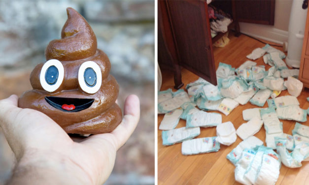 Diaper Dumping Grandpa Caught, Says It Was A Game