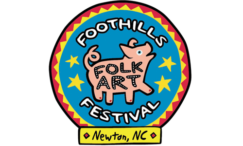 Newton's Annual Foothills Folk Art Festival, This Saturday, Oct. 6