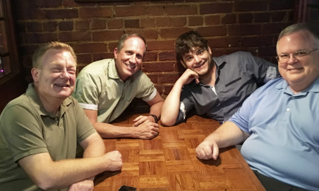 Meet The Men Of HCT's Comedy Flanagan's Wake, Opening Nov.  2