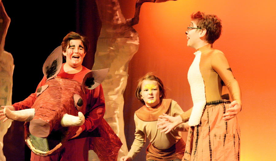 Last Chance To See HCT's  The Lion King, Jr. This Weekend