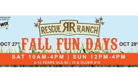 Rescue Ranch Annual Fall Fun Days • October 27 & 28