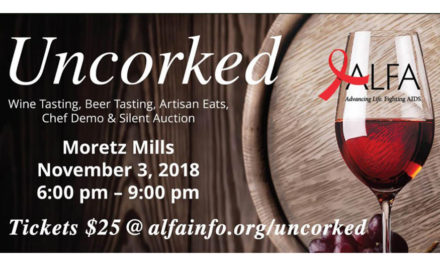 Uncorked – A Wine Tasting And Silent Auction! Sat., November 3