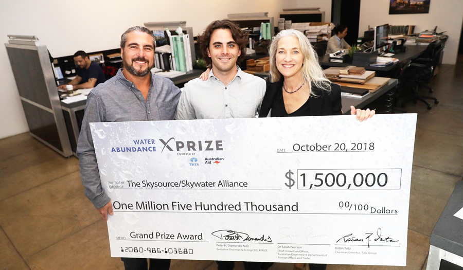 Lives Will Be Saved: Making Water From Air Earns Couple $1.5m XPrize