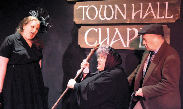 Last Weekend To Catch HCT's Comedy Flanagan's Wake!