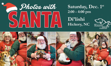 Humane Society Benefit, Photos With Santa, Sat., Dec. 1, Hickory