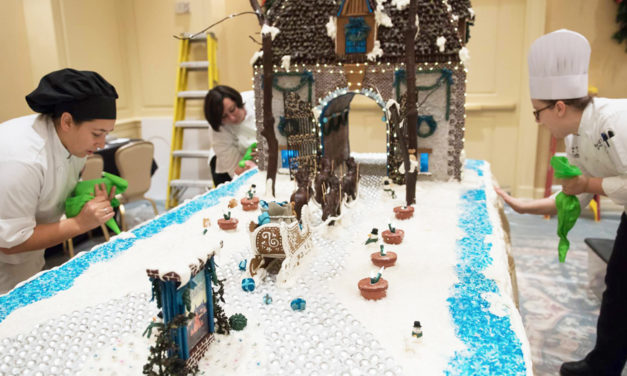 What Does It Take To Build The Biltmore In Gingerbread?