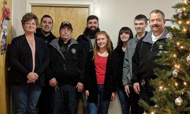 CVCC's Criminal Justice Club Adopted The  Claremont Police For A Comm. Service Project