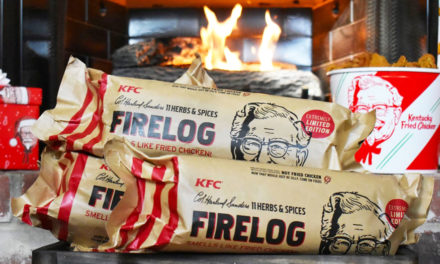 Xmas Gift Ideas Running Low? Chicken-Scented KFC Log!