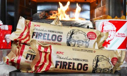 Xmas Gift Ideas Running Low? Chicken-Scented KFC Log!