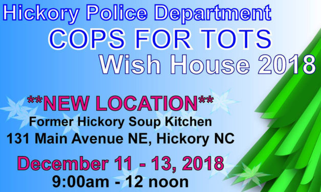 UPDATE!! HPD Christmas Wish House Will Be Open On Dec. 13, 14 & 17