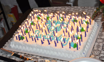 90 Candles On Birthday Cake Brought Fire Dept. To Party