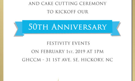 GHCCMinistry Kicks Off 50th Anniversary with Recommitment Celebration, Feb. 1