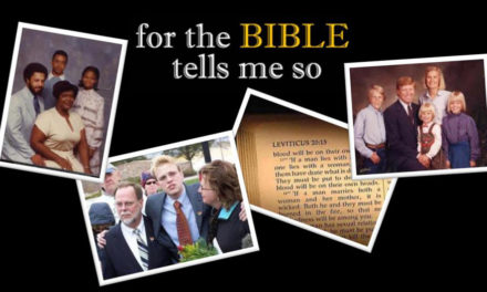 Film Screening Of For The Bible Tells Me So, Carolina Theater, 2/6