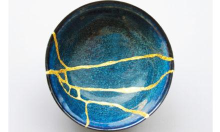Kintsugi: Broken Pottery Made More Beautiful, Precious