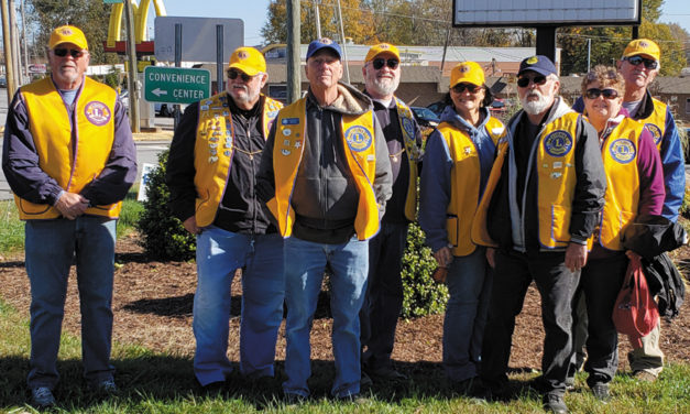 The Bethlehem Lions Have Been Hard At Work For Those In Need