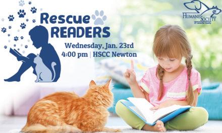 Rescue Readers, HSCC's New Program, Begins Jan. 23 At 4PM