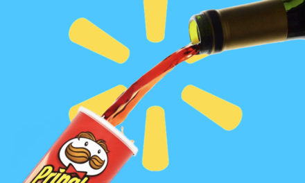 Parking Lot Donuts, Wine From Pringles Can = Walmart Ban