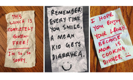 Alabama Dad's Lunchbox Notes To His Kids Entertain The World