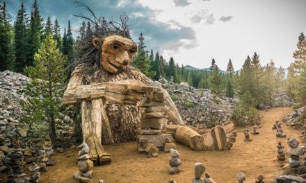 Huge Wooden Troll To Be Rebuilt In Colorado Ski Town