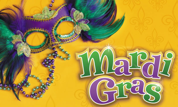 Hickory Sunrise Rotary Club Hosts Mardi Gras Dance Party, 3/1