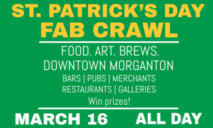 St. Patrick's Day FAB Crawl In Morganton, This Sat., March 16