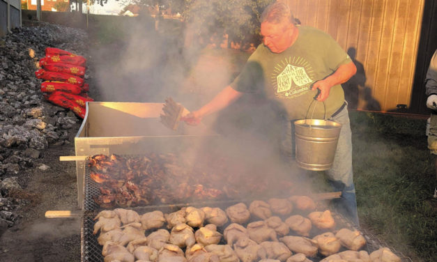 Boy Scout Troop BBQ Chicken Fundraiser, April 6 At Mt. Pisgah