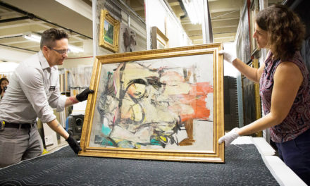 After 30 Years, Stolen de Kooning Painting Will Be Restored And Returned To Arizona Museum