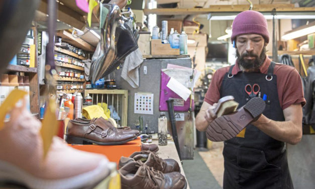 Cobblers Are Becoming Extinct And Are Busier Than Ever
