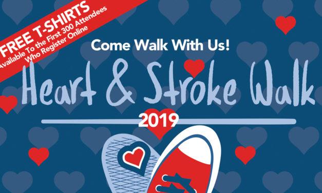 Frye Regional 2019 Community Heart & Stroke Walk Is May 4