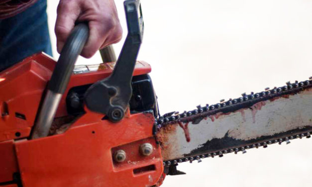 Shoplifter Stuffs Chain Saw Down  His…Pants? Ouch!