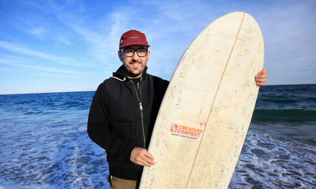 Surf The Waves With Hundreds Of Dunkin' Donuts Coffee Cups