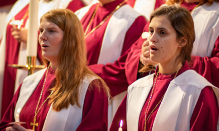 LRU's A Cappella Choir & Brass Ensemble Perform At Mt. Pisgah Lutheran Church, May 19