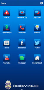 Hickory Police Department Presents Free Mobile App | Focus Newspaper