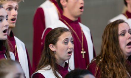 LR's A Cappella Choir And Brass Ensemble Performs On May 19