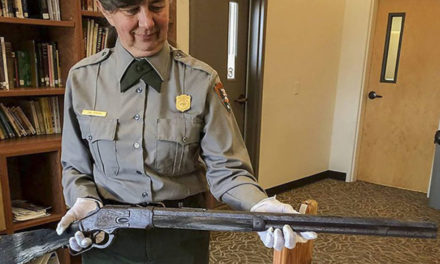 137-Year-Old Winchester Rifle Found Propped Against Tree