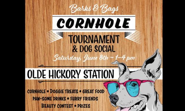Barks & Bags Cornhole  Tournament & Dog Social Is 6/8
