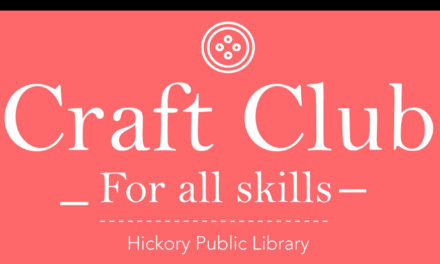 Craft Club At Patrick Beaver Library, Every Monday At 6pm