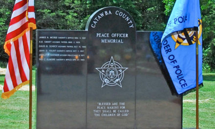 Memorial Service Honoring Law Enforcement In Hickory, May 17