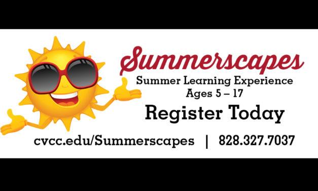 CVCC Summerscapes For Kids Ages 5 – 17, Starts June 17