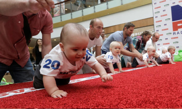 Children's Day Celebrated In Lithuania With Baby Race