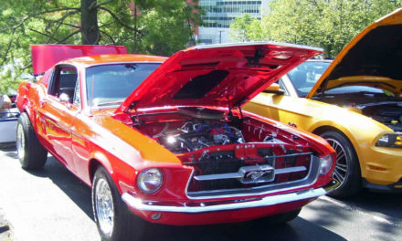 Catawba Valley Muscle Car Show, June 8, In Mountain View