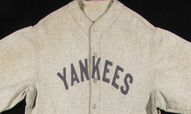 Babe Ruth Road Jersey Sells For $5.64 Million At Auction