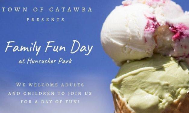 Town of Catawba Announces Family Fun Day, Saturday, 7/13