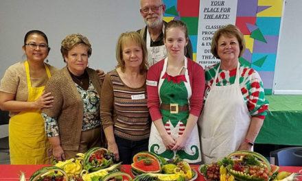 Hiddenite Arts & Heritage Center Offers Sculptured Fruit Class, 8/10