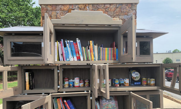 Valdese Main Street Program Member Creates Food Pantry