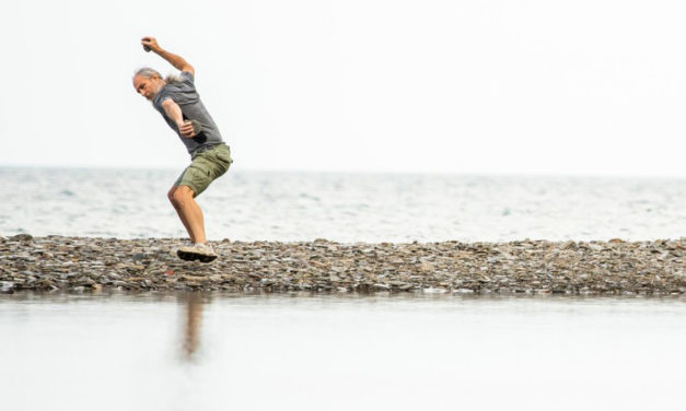Mountain Man Found Peace And Fame Skipping Stones