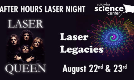 CSC Presents New Laser Show, Laser Queen! Aug. 22 & 23